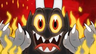 Kathleen Cuphead Screenshot Devil